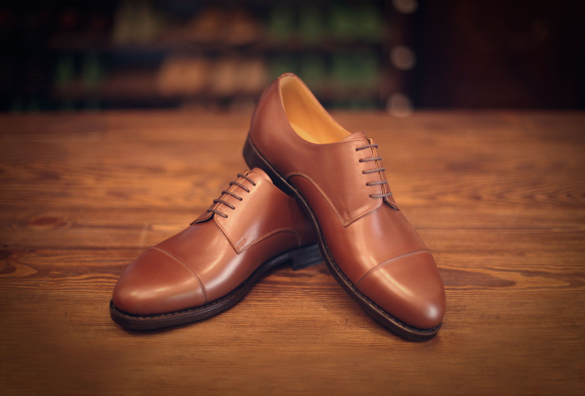 derby box brown