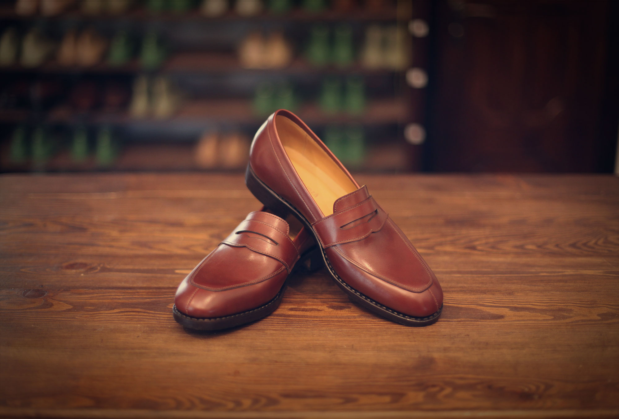 loafer brown box