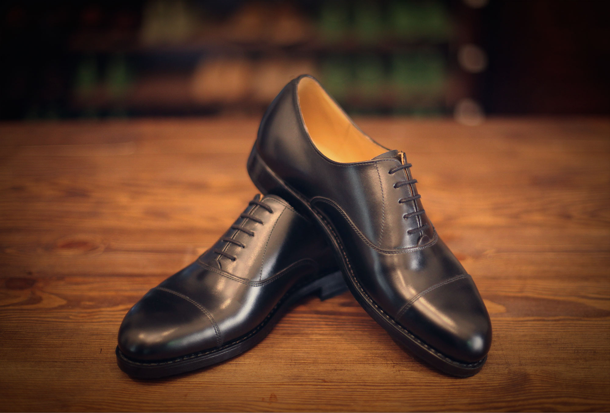 oxford black plain
